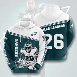 NFL Philadelphia Eagles 3D Hoodie V12