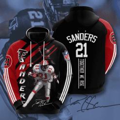 NFL Atlanta Falcons 3D Hoodie V12