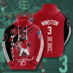 NFL Tampa Bay Buccaneers 3D Hoodie V12