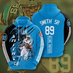 NFL Carolina Panthers 3D Hoodie V12