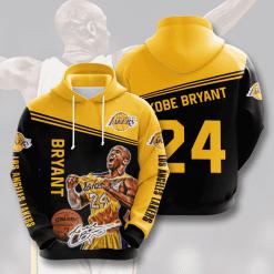 NBA Los Angeles Lakers 3D Hoodie V12