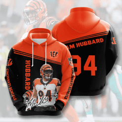 NFL Cincinnati Bengals 3D Hoodie V12