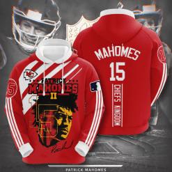 NFL Kansas City Chiefs 3D Hoodie V13