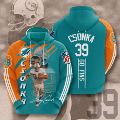 NFL Miami Dolphins 3D Hoodie V13