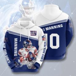 NFL New York Giants 3D Hoodie V13