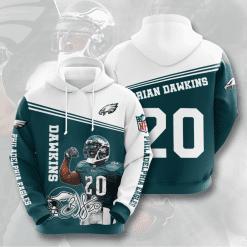 NFL Philadelphia Eagles 3D Hoodie V13