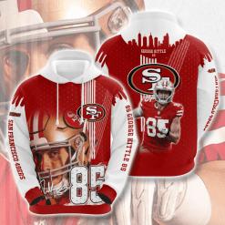 NFL San Francisco 49ers 3D Hoodie V13