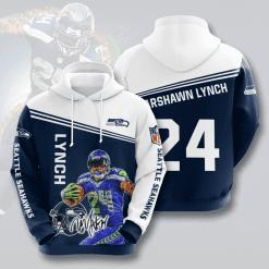 NFL Seattle Seahawks 3D Hoodie V13