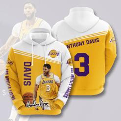NBA Los Angeles Lakers 3D Hoodie V13