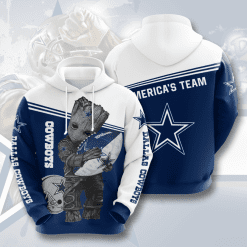 NFL Dallas Cowboys 3D Hoodie V13