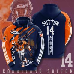 NFL Denver Broncos 3D Hoodie V13