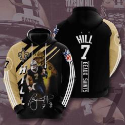 NFL New Orleans Saints 3D Hoodie V14