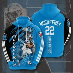 NFL Carolina Panthers 3D Hoodie V14