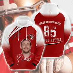 NFL San Francisco 49ers 3D Hoodie V14