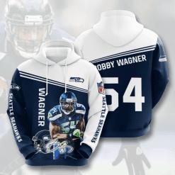 NFL Seattle Seahawks 3D Hoodie V14