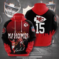 NFL Kansas City Chiefs 3D Hoodie V15