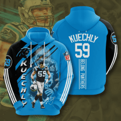 NFL Carolina Panthers 3D Hoodie V15