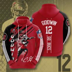NFL Tampa Bay Buccaneers 3D Hoodie V15