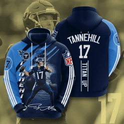 NFL Tennessee Titans 3D Hoodie V15