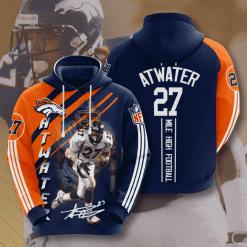 NFL Denver Broncos 3D Hoodie V15