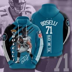 NFL Jacksonville Jaguars 3D Hoodie V15