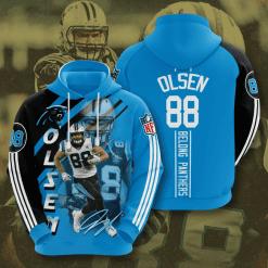 NFL Carolina Panthers 3D Hoodie V16