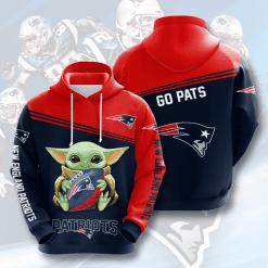 NFL New England Patriots 3D Hoodie V16