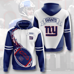 NFL New York Giants 3D Hoodie V16