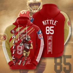 NFL San Francisco 49ers 3D Hoodie V16