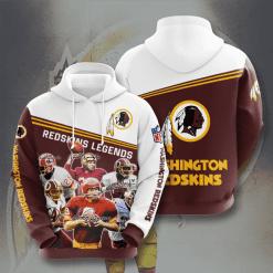 NFL Washington Redskins 3D Hoodie V16