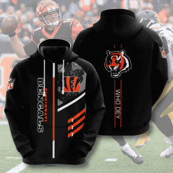 NFL Cincinnati Bengals 3D Hoodie V16