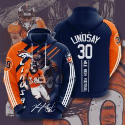 NFL Denver Broncos 3D Hoodie V16