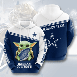 NFL Dallas Cowboys 3D Hoodie V17