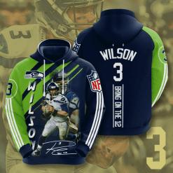 NFL Seattle Seahawks 3D Hoodie V17