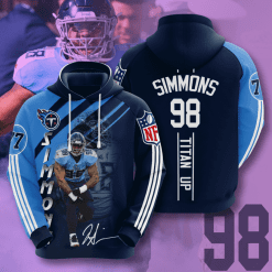NFL Tennessee Titans 3D Hoodie V17