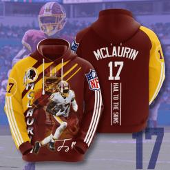 NFL Washington Redskins 3D Hoodie V17