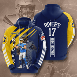 NFL Los Angeles Chargers 3D Hoodie V17