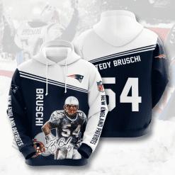 NFL New England Patriots 3D Hoodie V17