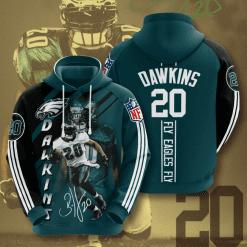 NFL Philadelphia Eagles 3D Hoodie V17