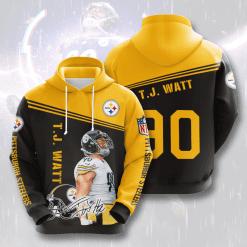NFL Pittsburgh Steelers 3D Hoodie V17