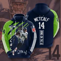 NFL Seattle Seahawks 3D Hoodie V18