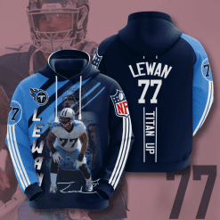 NFL Tennessee Titans 3D Hoodie V18