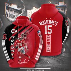 NFL Kansas City Chiefs 3D Hoodie V18