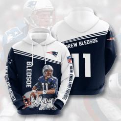 NFL New England Patriots 3D Hoodie V18