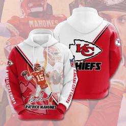 NFL Kansas City Chiefs 3D Hoodie V19