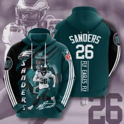 NFL Philadelphia Eagles 3D Hoodie V19