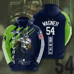 NFL Seattle Seahawks 3D Hoodie V19