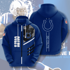 NFL Indianapolis Colts 3D Hoodie V2