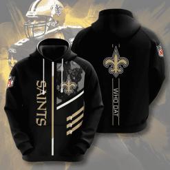 NFL New Orleans Saints 3D Hoodie V2