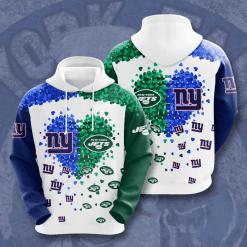 NFL New York Giants 3D Hoodie V2